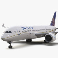 Boeing 787-3 Dreamliner United Airlines