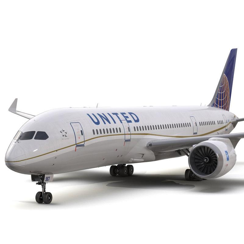 boeing 787 3 dreamliner 3d model