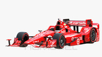 3d model indy car chevy 2015