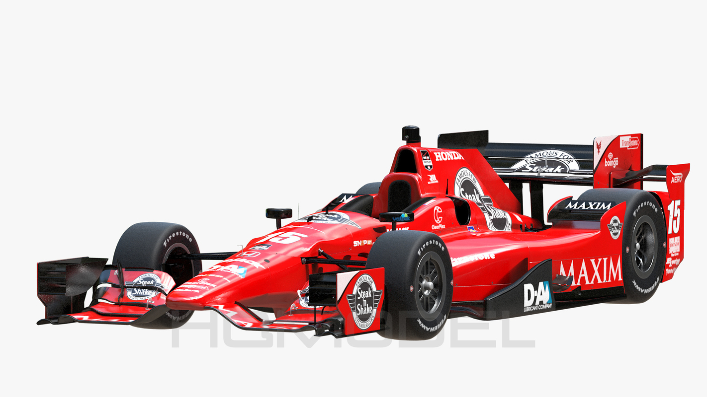 indy car honda 2015 3d max