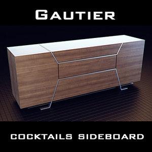 gautier sideboard 3ds