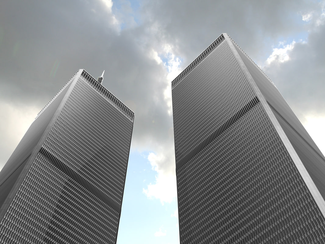 3d world trade center model