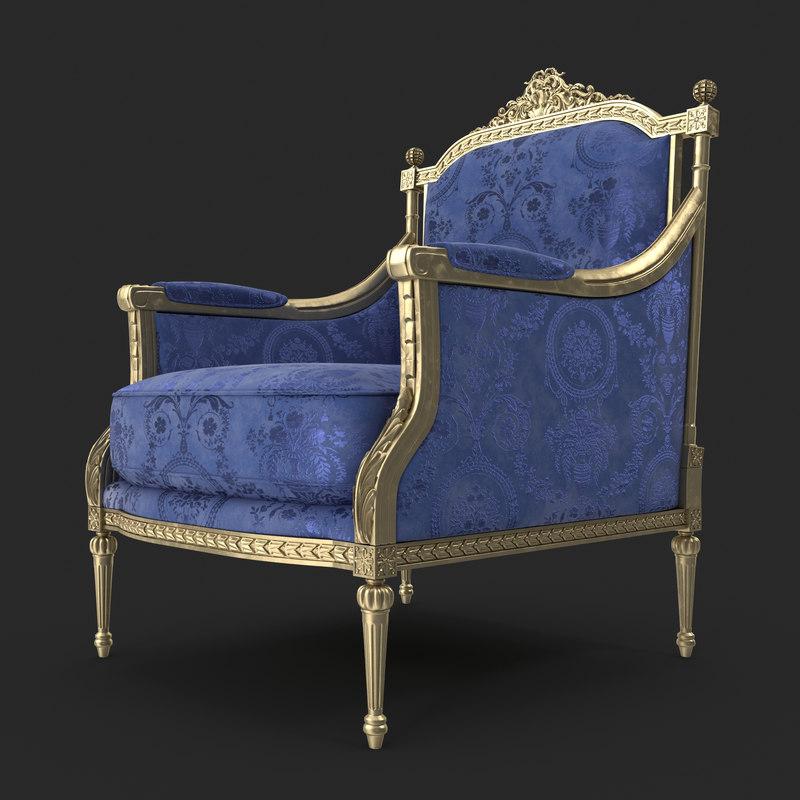 3d angelo cappellini armchair