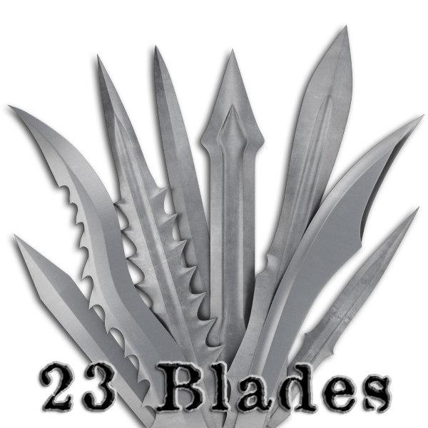 3d model blades