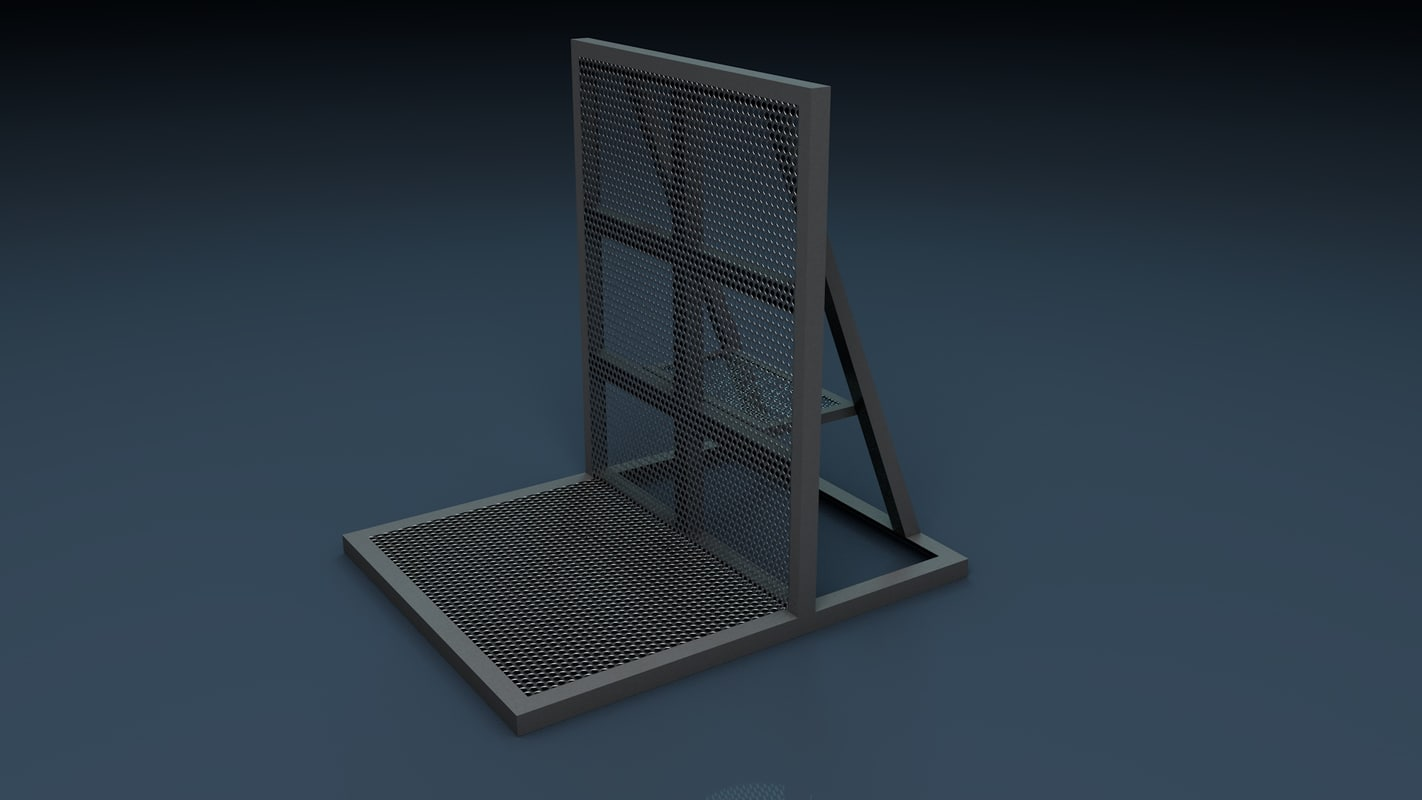 c4d stage barrier