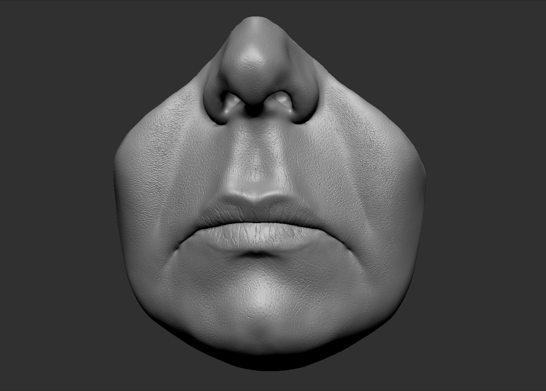head parts lips obj