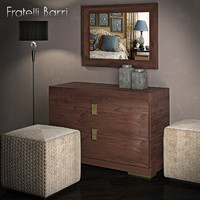 floor lamp chest drawers 3d model