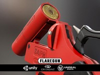3d flaregun weapon