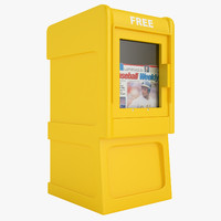 3ds newspaper box