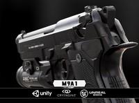 m9a1 black chrome obj