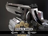 3d stealth hunter model