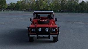 fbx land rover defender 110