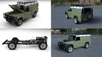 3d land rover defender 110