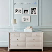 Pottery Barn Ava Regency Extra-Wide Dresser