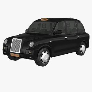 3d model london tx4 taxi