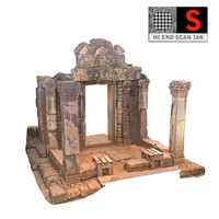 Gate Red Temple  16K