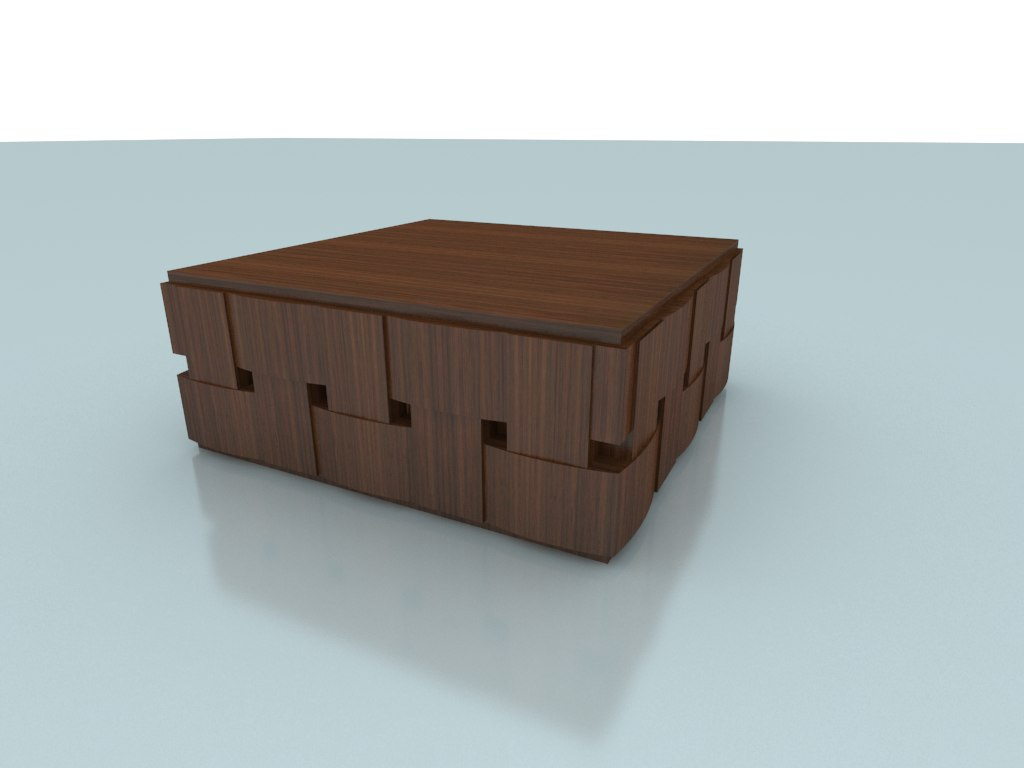 ryn coffee table 1 3d 3ds