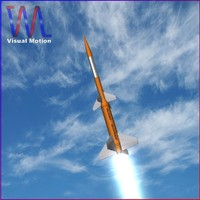 centauro rocket 3d model