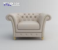 Classical single sofa