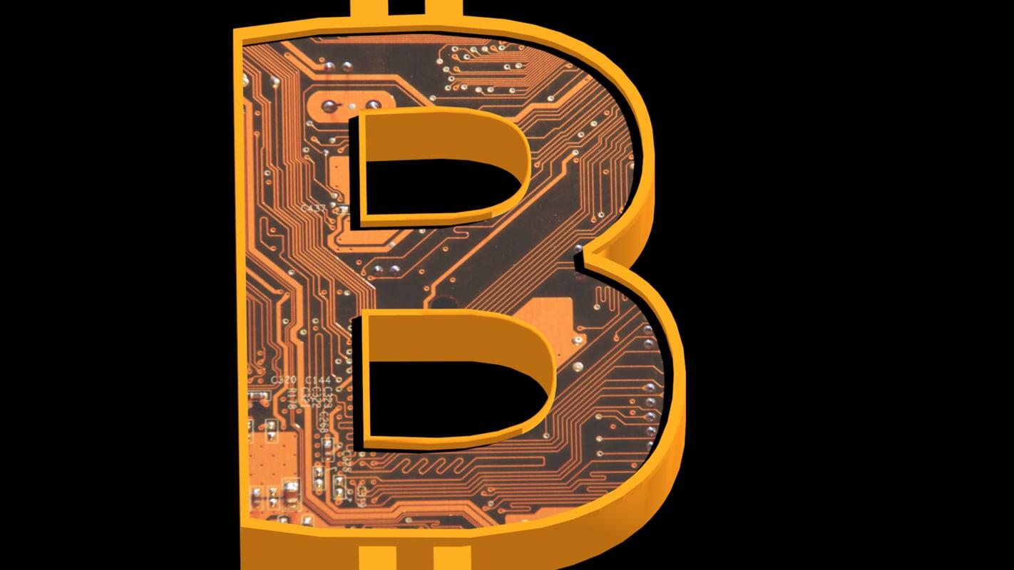 bitcoin symbol 3d 3ds