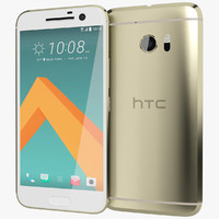 3d model realistic htc 10 topaz