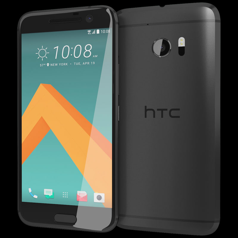 3d model realistic htc 10 carbon