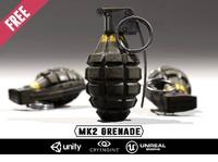 free grenade weapon 3d model