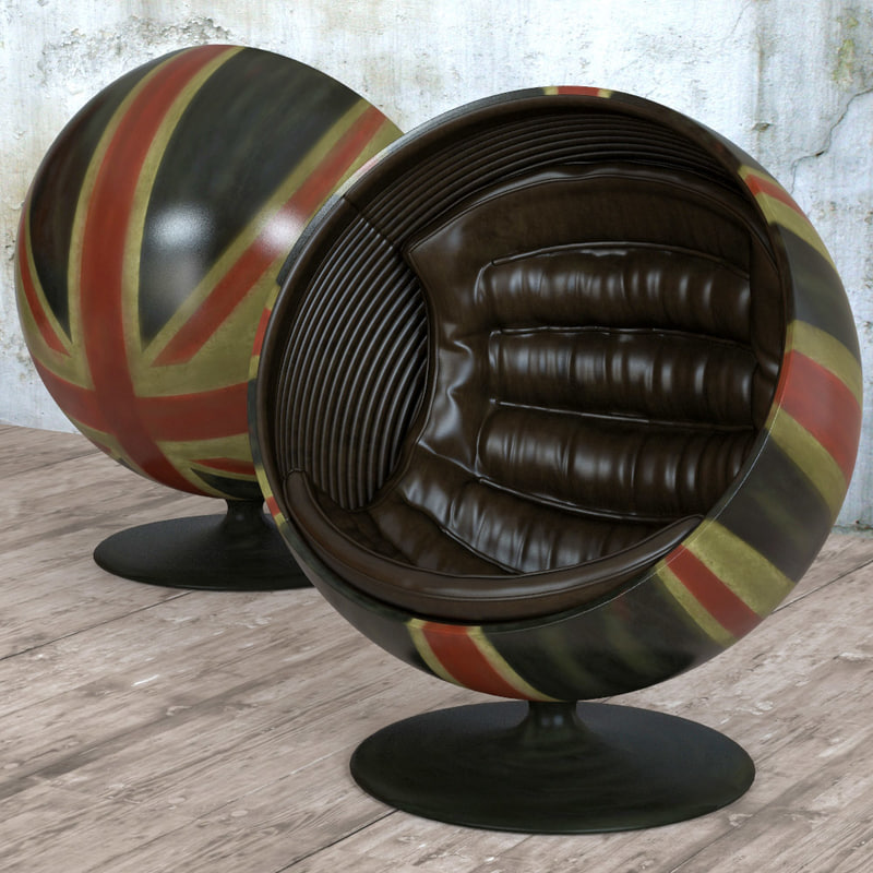 seat ball pod chair 3d model