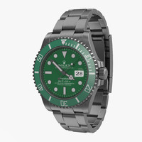 Rolex Submariner Date 2 Green Dial