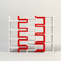 acrylic shelves 3d model