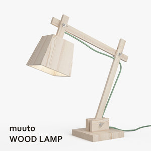 3ds muuto wood lamp