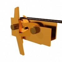 latch crossbow mechanism obj