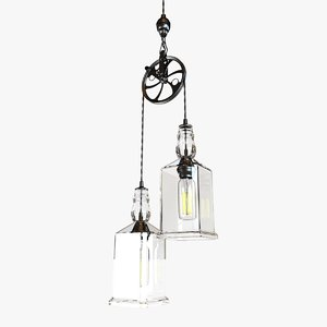 light whiskey bottle pulley max