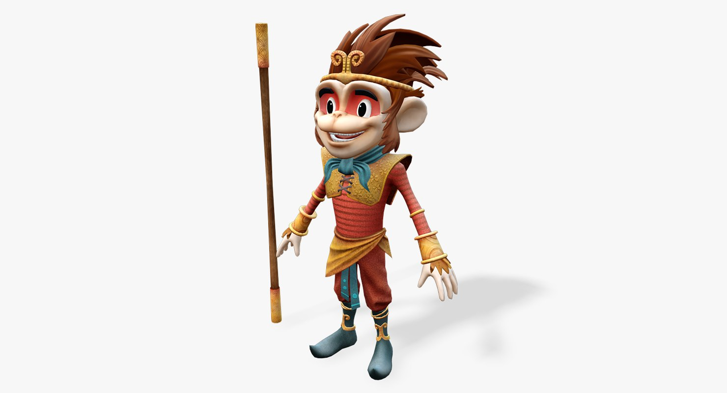 monkey king animations max