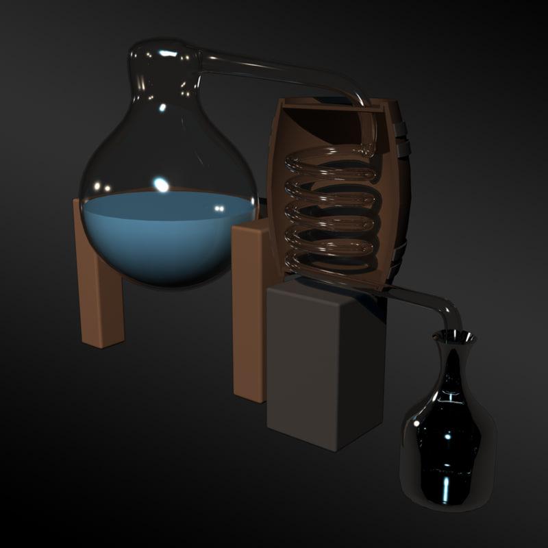 3d distillation equipment