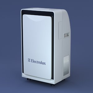 electrolux eacm floor air conditioner 3d max