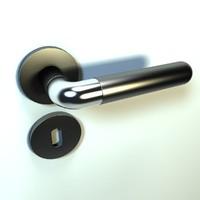 rotating door handle 3d model