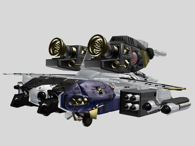 vf skull macross armor 3d 3ds