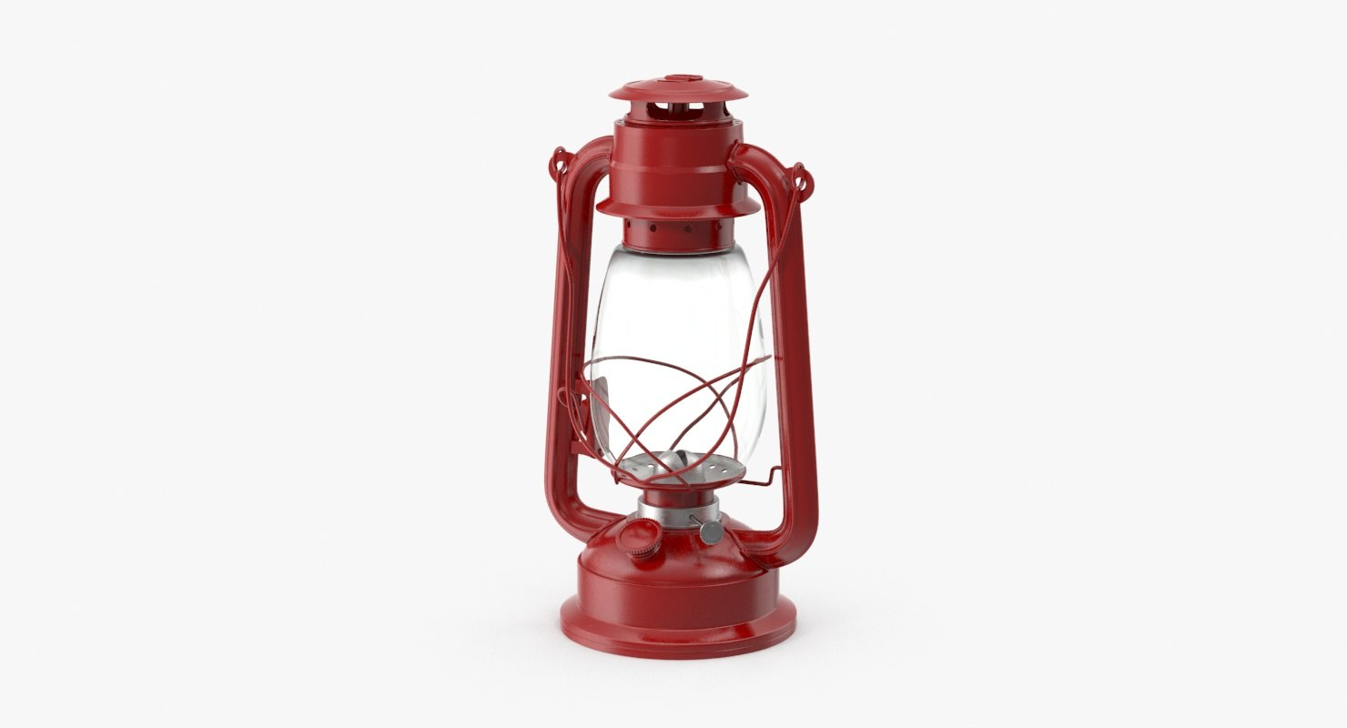 camping lantern 3d model