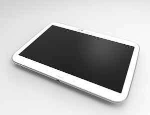 3d model samsung galaxy tab 3