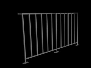 fence 3d dxf