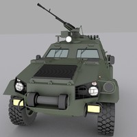 3d model ukrainian armored personnel carrier