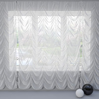 french curtain 3d max