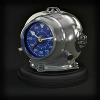 Eichholtz Clock diving Helmet
