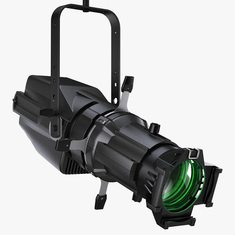 colorsource spot lights 3ds