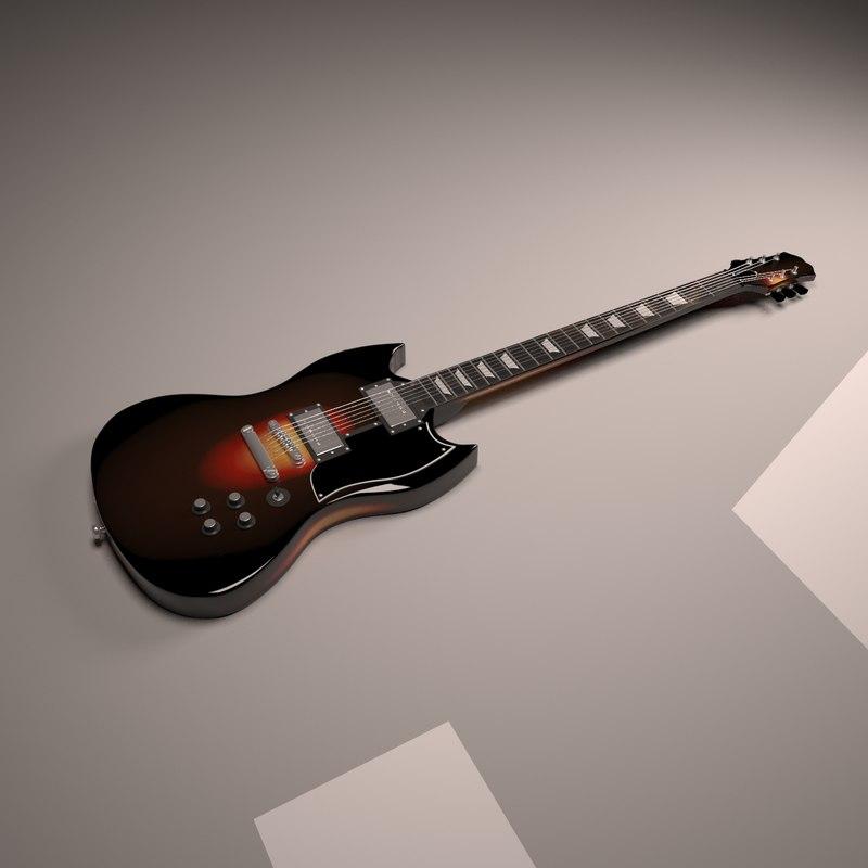 3d guitar sg-pro