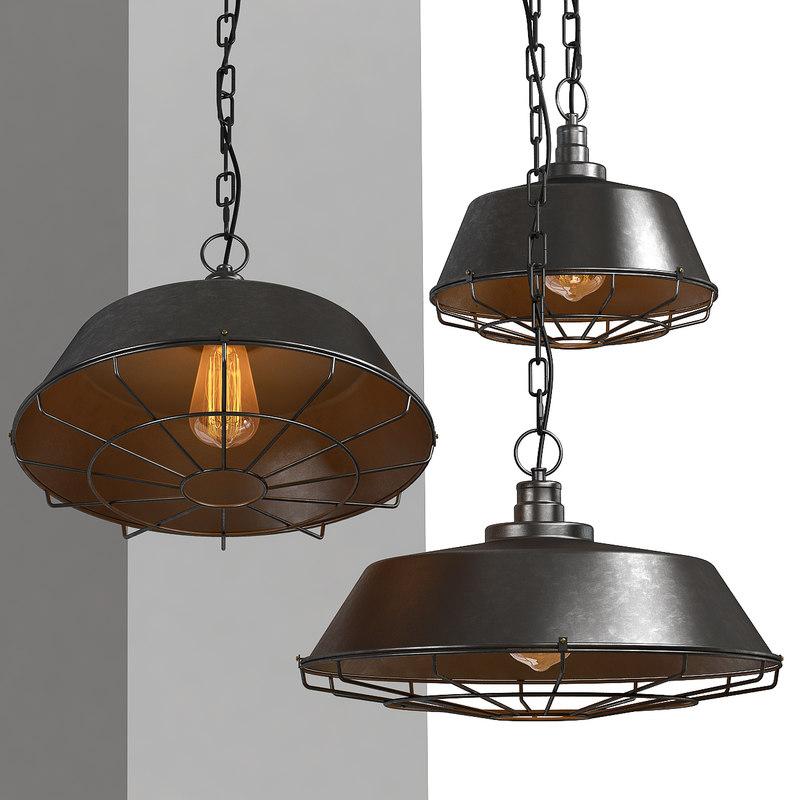 obj chandelier light