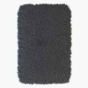3d x fur carpet