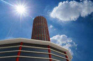 skyscraper highrise building 3ds