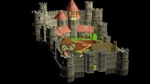 3d model town